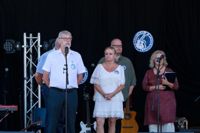 Kjell-Arne Olsson (skymd), Rolf Svensson, Elizabeth Borgstrand Milsten, Paul Ström, Gitte Pålsson