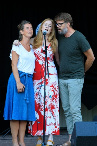 Therese Börjesson, Anna Stadling, Pecka Hammarstedt